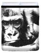 Gorilla Vogue Duvet Cover