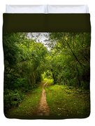 Gosnell Big Woods Trail Duvet Cover