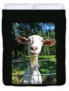 Got Your Goat Duvet Cover