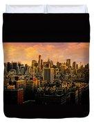 Gotham Sunset Duvet Cover