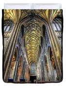 Gothic Architecture Duvet Cover by Adrian Evans
