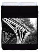 Gothic Bridge Design Duvet Cover