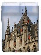 Gothic Bruges Duvet Cover