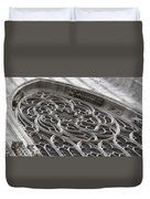 Milan Gothic Cathedral Apse Window Duvet Cover
