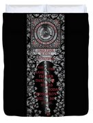 Gothic Celtic Impermanence Duvet Cover