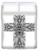 Gothic Cross Duvet Cover