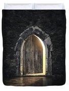 Gothic Light Duvet Cover by Carlos Caetano