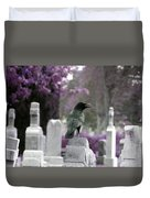 Gothic Purple Duvet Cover