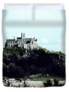 Gothic St Michael's Mount Cornwall Duvet Cover
