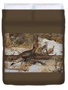 Gould's Wild Turkey Xiii Duvet Cover