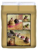 Gourmet Delights - Collage Duvet Cover