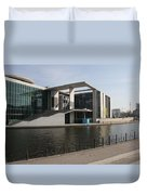 Government Building  Berlin  Duvet Cover