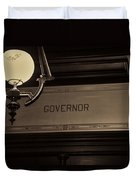 Governor Office Duvet Cover