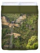 Govetts Leap Falls Duvet Cover