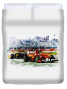 Gp Singapore F1  Duvet Cover