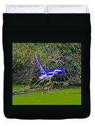 Gr8 Heron Flight Duvet Cover