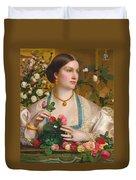 Grace Rose Duvet Cover