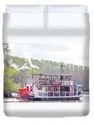 Graceful Ghost Steamboat Duvet Cover
