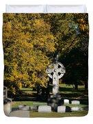 Graceland Cemetery Chicago - Tomb Of John W Root Duvet Cover