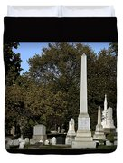 Graceland Chicago - The Cemetery Of Architects Duvet Cover