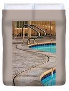 Gracious Curves Palm Springs Duvet Cover