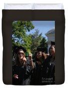 Graduation Uva Duvet Cover