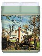 Graeme Park Farmhouse View Duvet Cover