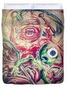 Graff In The City Duvet Cover