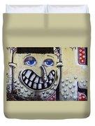 Graffiti Art Buenos Aires 1 Duvet Cover