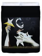 Graffiti Art Curitiba Barazil 13 Duvet Cover by Bob Christopher
