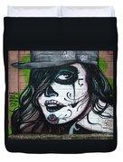 Graffiti Art Curitiba Brazil 21 Duvet Cover by Bob Christopher