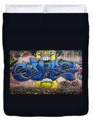 Graffiti Art Curitiba Brazil 7 Duvet Cover by Bob Christopher