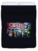 Graffiti Art Duvet Cover
