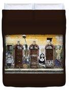 Graffiti Art Recife Brazil 20 Duvet Cover