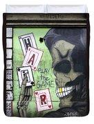 Graffiti Art Rio De Janeiro 4 Duvet Cover