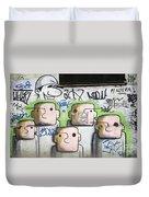 Graffiti Art Rio De Janeiro 5 Duvet Cover