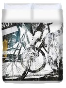 Graffiti Bikes Duvet Cover