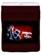 Graffiti - Box Car Art  7097-008 Duvet Cover