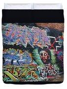 Graffiti Series 01 Duvet Cover