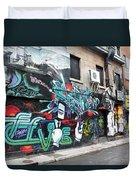 Graffiti Series 02 Duvet Cover