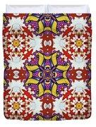 Graffito Kaleidoscope 40 Duvet Cover
