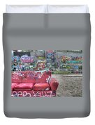 Grafitti Couch Duvet Cover
