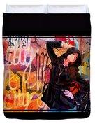 Grafitti Lovely Duvet Cover