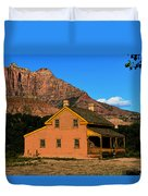 Grafton Utah 1866 Duvet Cover