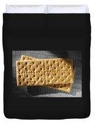 Graham Crackers Duvet Cover
