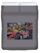 Graham Hill Mr Monaco Duvet Cover