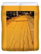 Grain Drying Duvet Cover