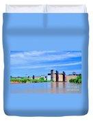 Grain Mills Duvet Cover