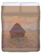 Grainstack  Sun In The Mist Duvet Cover