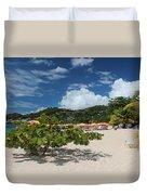 Grand Anse Beach - Grenada Duvet Cover